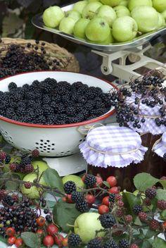 Autumn Fruits and Jam
