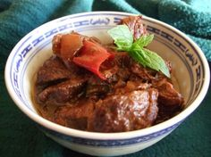 DAGING BUMBU BALI - Indonesian meat-dish from Food.com: I have cooked this dish for more then 25 years and the only thing I have changed about it is that I don't eat it on the day I cook it. I put it in the fridge for up to 2 days or freeze it, (leaving the leaves in), until I need it. This has two reasons, the flavors improve and as the cook I find you can enjoy it more because the smell of the spices, when cooking lessens your appetite.