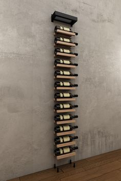 BUOYANT® WALL MOUNTED CABLE BASED WINE RACKS WILL DECORATE ANY WALL AND PERFECT FOR THE MODERN WINE ENTHUSIAST. NOW AVAILABLE IN VARIOUS COLOR COMBINATIONS!