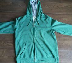 Jasper conran Mens Hoodie, Green,  size XL