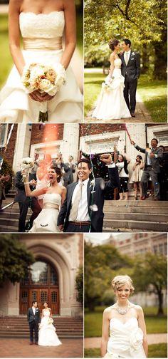 Beautiful wedding from stylemepretty