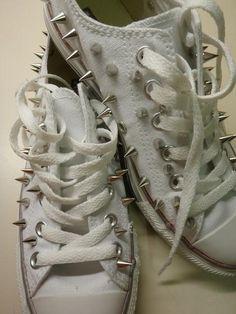 f7aabb549768 Die 9 besten Bilder von diy   Zapatos converse, Botas zapatos und ...