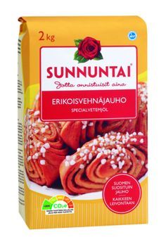 Mustikka-vaniljapullat - raisio.com