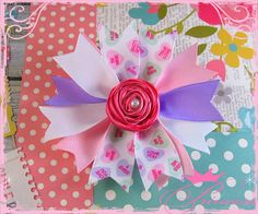 Valentine Heart Hair Bow / Boutique Hair by TheBowfairyBowtique, $6.00