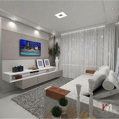 Home Interior Decoration Ideas Living Room Tv, Interior Design Living Room, Living Room Designs, Sala Grande, Modern Home Interior Design, Paint Colors For Living Room, Furniture Design, Furniture Ideas, House Design