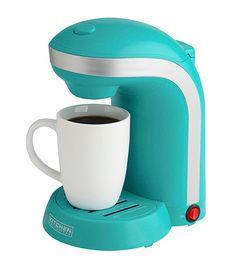 Kitchen Selectives Single Serve Coffee Maker with 12-oz. Mug   Bon-Ton