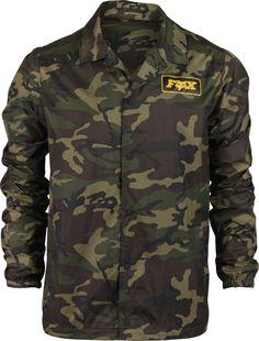 Bark//Camo Fox Racing Mens Podium Puffer Jacket