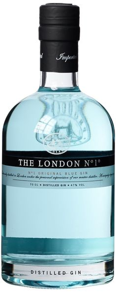 The London Gin Company No. 1 Original Blue Gin x l) Tequila, Vodka, Blue Gin, Hard Drinks, Gins Of The World, Hotel Gast, London Gin, Premium Gin, Ale