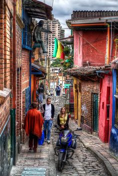 La Candelaria, Bogota by szeke, via Flickr
