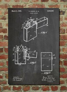 Zippo Lighter Patent  - www.eklectica.in #eklectica