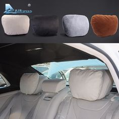 Big sale US $27.73  Airspeed 2pcs Maybach Design S Class Car Headrest Neck Supports Pillows Seat Cushion for Mercedes Benz W204 W203 W211 W210 W212