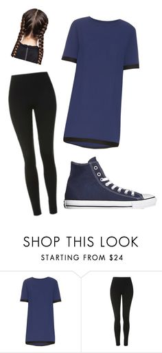 """Untitled #253"" by layna427 ❤ liked on Polyvore featuring Acne Studios, Topshop and Converse"