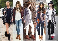 #TattooTrends: el 'blanket cardigan' será tu suéter favorito este otoño
