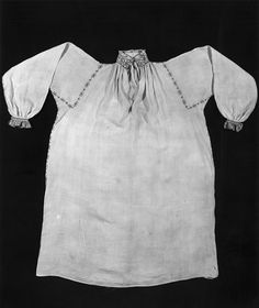 Linen shirt embroidered with silk ca 1540. V&A collections. More pictures available.