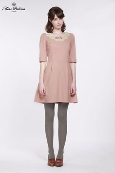 Tea For Two Dress (Dusty Pink) (1)