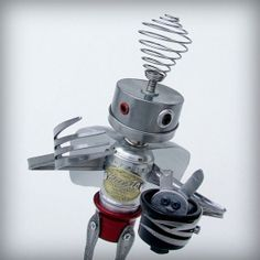 Presto - Robot Art Sculpture...