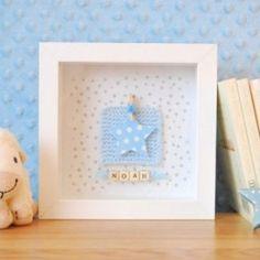 Personalised Blue Heart FrameI'm stirring in lee-Anne's bedroom speaking to her xx Scrabble Crafts, Scrabble Frame, Scrabble Art, Box Frame Art, Box Frames, Box Art, Button Art, Button Crafts, Diy Cadeau