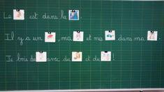 Je travaille avec une collègue (Sophie) qui a un CE1/CE2 dans une autre école en REP. Elle utilise pour ses CE1 l'ouvrage de Stéphane Grulet : des rituels pour travailler l'orthographe au cycle 2... Cycle 2, School, Lectures, 7th Grade Classroom, Writing Notebook, Montessori Activities, Big Dipper