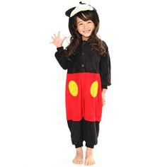 SAZAC Micky Mouse Kigurumi for Kids