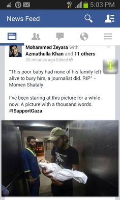 #GAZA How can we allow this to happen to other human beings? End the occupation of Palestine and leave them be.
