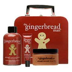Image detail for -Philosophy Gingerbread Man Suitcase