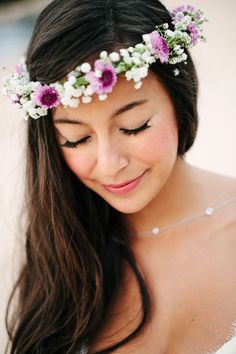 traditional Haku (Hawaiian floral crown)