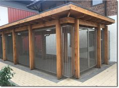 Gladstone PC architectural pre-crimped mesh decorative security screening at Antrim Golf Club, Northern Ireland. Allen Park, Covered Walkway, Security Screen, Wire Mesh, Northern Ireland, Golf Clubs, Pergola, Shed, Outdoor Structures