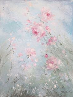 """Bliss"" 18 x 24 - Debi Coules Romantic Art"