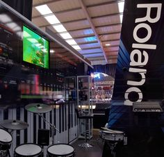Is this the world's biggest Jupiter 50 Graphic? Take a look at the York Roland Planet X. @Roland UK