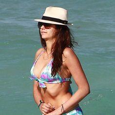 Nina Dobrev's Bikini-Ready Moves