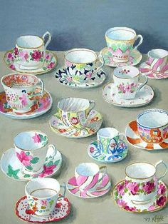 How lovely are these China Tea Cups? Anyone for a Cup of Tea?