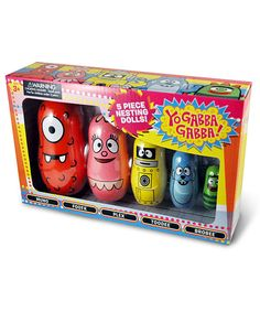 Take a look at this Yo Gabba Gabba! Nesting Dolls on zulily today!