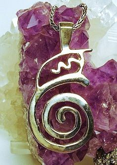 Dai Koo Myo  Dumo  Reiki Master Symbol Pendant by TheEnergyGarden, $85.00! On my wish list :)
