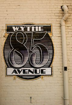 10th Street and Wythe Avenue on nyctype.co