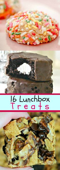 16 Lunchbox Treats Y