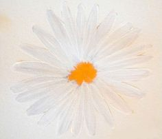 How to Paint a Daisy | The Art 123