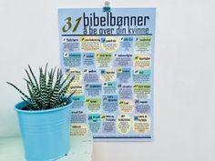 """Annonse. Bønneplakat: """"31 bibelbønner å be over din kvinne"""". Bestilling: hjertehjemme@gmail.com #bønn #bønneplakat #hjertehjemme #ekteskap"""