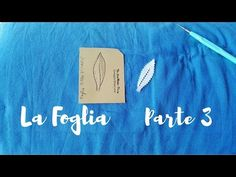 Tombolo Tutorial | La foglia Canturina - Parte 3 - YouTube