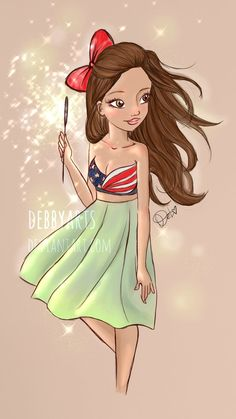 Happy 4th July !   by DebbyArts by DebbyArts.deviantart.com on @deviantART