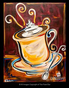 October3120171151hotchocolate Jpg 522 664 Acrylic Canvas Art Painted