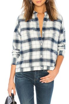 0599a17a051e5c Uniqlo Women's Flannel Checked Skipper Long-sleeve Shirt. See more. 9 Best Womens  Flannel Shirts for Fall 2018 - Cute Flannel & Plaid Shirts for Women