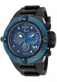 Price:$399.00 #watches Invicta 11512, With a bold, masculine design, Invicta chronograph has a poised and calm ambience that's sure to have you looking twice.