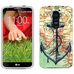 LG G2 Nautical Anchor Phone Case Cover