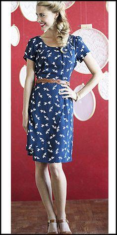 Lara Dress (Blue) by ModestPop