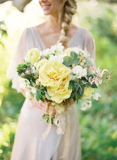 Summery yellow bouquet
