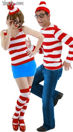wheres waldo costume can you see him waldo has finally been found wheres waldo costume adult costume includes signature pompom ended hat