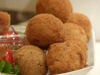 Aftrad Village Kitchen: Corned Beef Yam Balls