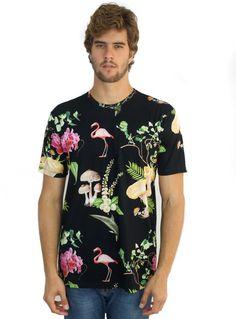 T-shirt Flamingo Mushroom | NEPHEW