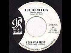 ▶ I Can Hear Music- Ronettes - YouTube