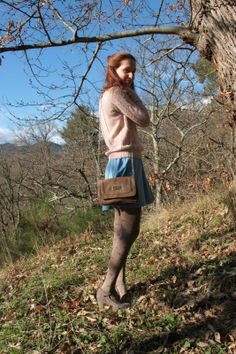 Brown Tights, Dress Skirt, Rompers, Models, Shorts, Nice, Outfits, Vintage, Dresses